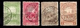 Maroc Postes Locales YT N° 84/85 Et 87/88 Oblitérés. B/TB. A Saisir! - Marokko (1891-1956)
