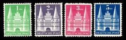 Allemagne/Bizone YT N° 65/68 Type II Neufs *. B/TB. A Saisir! - American/British Zone