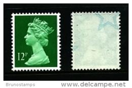 GREAT BRITAIN - 1985  MACHIN   12p.  STARS  MINT NH  SG X896Eu - 1952-.... (Elisabeth II.)