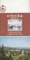 Slovenia Vrhnika - Guide 1970 - Dépliants Touristiques