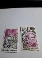 Timbre France  1973 -  Yvert 1768/1769, Neufs Louis Pasteur - Tony Garnier - Ongebruikt