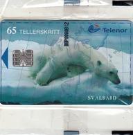 SVALBARD - Polar Bear,N-140, Tirage 17.000, 02/99, Mint - Svalbard
