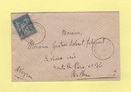 Peyreleau - Aveyron - 1888 - Type Sage - 1877-1920: Période Semi Moderne