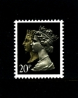 GREAT BRITAIN - 1990  DOUBLE HEADS  20p. PCP HARRISON  MINT NH  SG 1469 - 1952-.... (Elisabetta II)