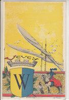 VEVEY - LITHO SIGNEE ( E.D TURRIAN - ILLUSTRATION - DOS UNIQUE - N/C - TTB - VD Vaud