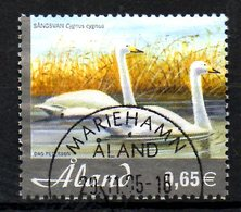ALAND. N°245 Oblitéré De 2005. Cygne. - Swans