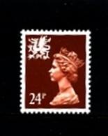GREAT BRITAIN - 1991  WALES  24 P.  MINT NH   SG  W59 - Regionali