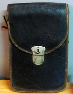 Sacoche En Cuir De 1914-18 - Equipement
