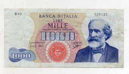 "Italia - Banconota Da Lire 1.000 ""Verdi ""- Medusa - 1° Tipo - Decreto 14.07.1962 - (FDC8662) - [ 2] 1946-… : République"