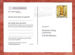 Karte, EF Wien, Villach Nach Muenchen 2002 (47799) - 2001-10 Briefe U. Dokumente