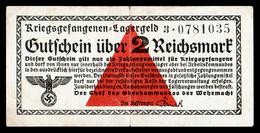ALLEMAGNE - 2 Reichsmark - Kriegsgefangenen Camp Prisonniers - WW II - VF+/TTB+ - 1933-1945: Drittes Reich