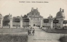 CPA 36 VALENCAY Entrée Principale Du Château - France