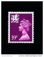 GREAT BRITAIN - 1991  WALES  39 P.  MINT NH   SG  W69 - Regionali