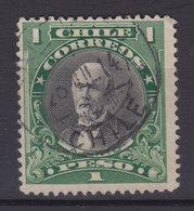 Chile 1911 Mi. 112     1 P Anibal Pinto  (1825-84) - Chile