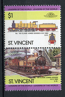 TRAINS - 1984 -  ST. VINCENT - Mi. Nr. 816/817 -  NH -  (UP.70.41) - St.Vincent (1979-...)