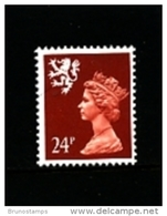 GREAT BRITAIN - 1989  SCOTLAND  24 P.  MINT NH   SG  S69 - Regionali