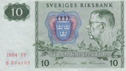 (B0401) SWEDEN, 1984. 10 Kronor. P-52e. VF - Suède