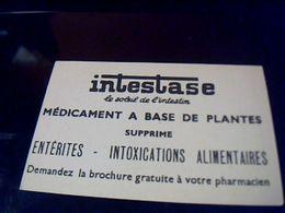 Image Publicitaire Chromo  Pub  Intestase Medicament A Base  De  Plantes Theme Devinettes Cherche Barbe Bleue - Aiglon