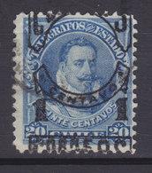 Chile 1904 Mi. 58     1 Centavo Auf 20 C. Telegrafmarke ERROR Variety Misplaced Aufdruck Overprint !! - Cile