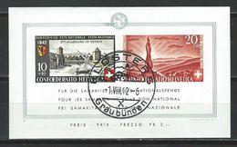 SBK B19, Mi Bl. 7 Gestempelt 1.8.42 - Used Stamps