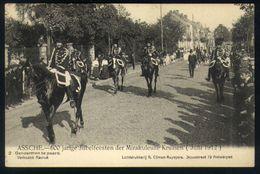 Z08 - Assche - 600 Jarige Jubelfeesten Der Mirakuleuze Kruisen (1912) - 2 - Gendarmen Te Paard - Ongebruikt - Asse