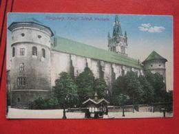 Kaliningrad / Königsberg - Königliches Schloss, Westseite / Feldpost, Zensur: Straßburg (Els) - Ostpreussen