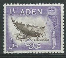 Aden - Yvert N° 57 A    *  ( Très Légère ) -  Az26207 - Aden (1854-1963)