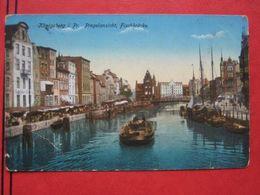 Kaliningrad / Königsberg I. Pr. - Pregelansicht, Fischbrücke / Feldpost - Ostpreussen