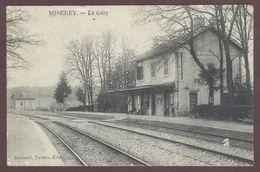 Miserey Salines  La Gare  Voie Ferrée  Miserey-Salines Doubs 25480 * Miserey-Salines Arrondissement  De Besançon - France