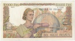 10000 Francs Génie Français Type 1945, F50.80, P132, 05/04/1956, X.11331, TB - 10 000 F 1945-1956 ''Génie Français''