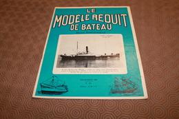 MODELE REDUIT DE BATEAU  JUILLET AOUT 1968 - Bateaux