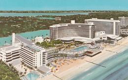 FONTAINEBLEAU MIAMI BEACH, RESORT HOTEL. CURTEICHCOLOR. USA EEUU.-TBE-BLEUP - Hotel's & Restaurants