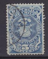 Chile Stempelmarke 1880 Mi. 3     5 C. Wappen - Chili