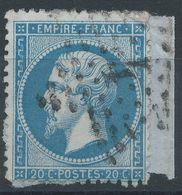 Lot N°41543  N°22, Oblit étoile Chiffrée 4 De PARIS ( R. D'Enghien ) - 1862 Napoleon III
