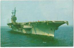 6Rm-010: THE U.S.S. SARATOGA  : 1965 > Oostende - Etats-Unis