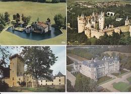 LOT De 700 Cartes, CPSM, CPM Et CPA Sur Des CHATEAUX Français  //  TBE - Postcards