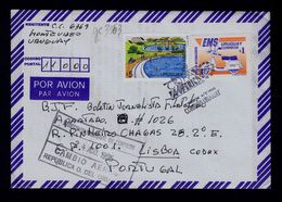 COPA AMERICA (URUGUAY Pays Natural) Tourisme Vacances Agence EMS Express International Moto Velocipedes Poste Mail G3363 - Posta