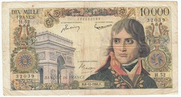 10000 Francs Bonaparte Type 1955, F51.06, P136, 06/12/1956, H.52, B - 1871-1952 Anciens Francs Circulés Au XXème