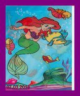 Théme Walt Disney * Carte Vision Relief * Ps 226 The Little Mermaid Aquatic Dance    ( Voir Scans Recto-Verso ) - Sonstige