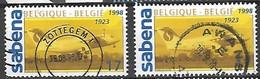 OCB Nr 2753 Sabena Avro Plane Avion Vliegtuig - Centrale Stempel Zottegem + Awans - Gebraucht