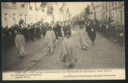 Z08 - Assche - 600 Jarige Jubelfeesten Mirakuleuze Kruisen (1912) - 23 - Drossaard En Schepenen - Ongebruikt - Asse