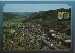 Wattwil SG Im Toggenburg Generalansicht - Flugaufnahme - SG St. Gall