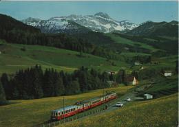 Appenzellerbahn Mit Säntis Chemin De Fer Railway - Photo: Gross - AR Appenzell Rhodes-Extérieures