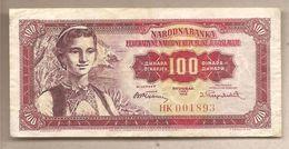 Jugoslavia - Banconota Circolata Da 100 Dinari P-69 - 1955 - Yugoslavia