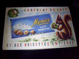 Buvard Helbé  Chocolat Menier Aux Noisettes - Cocoa & Chocolat