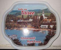 VASSOIO GRUBE VOM TITISEE SCHWARZWALD BLACK FOREST - Altre Collezioni