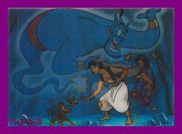 Théme Walt Disney * Carte Vision Relief *  Ps 229  Aladdin    ( Voir Scans Recto-Verso ) - Sonstige