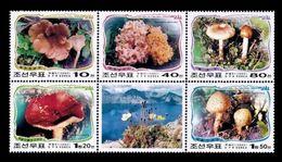 North Korea 2002 Mih. 4526/30 Flora. Mushrooms MNH ** - Korea, North