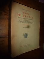 1911 HISTOIRE DE FRANCE  Depuis Les Origines Jusqu'à La Révolution (Table Alphabétique) - Livres, BD, Revues