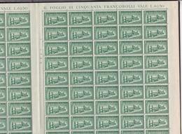 1944 Italia Italy RSI ESPRESSO N.23  100 Serie 3v. In Doppio Foglio MNH** R.S.I. Double Sheet - 4. 1944-45 Repubblica Sociale